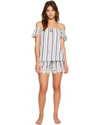 Lucky Brand - Woven Shorty Set - Lyst