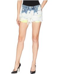 Blank NYC - The Essex High Rise Shorts In Now Of Never - Lyst