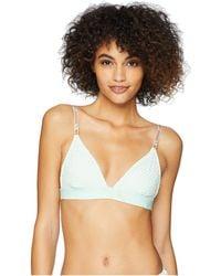 91cc9d4b391 PUMA - X Fenty By Rihanna Mesh Triangle Bikini Top - Lyst