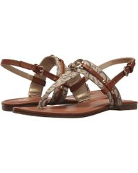 994cade54bef Lyst - G by Guess Leed Sandal in White