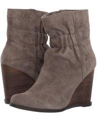 ca6054cdbf0 Lyst - Women s Splendid Wedge boots On Sale