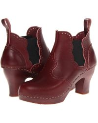 Swedish Hasbeens - Victorian Chelsea Boot - Lyst
