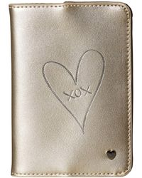 Deux Lux - Xox Passport Case - Lyst