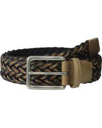 Torino Leather Company - 35mm Multi Woven Wax Cotton W/ Matte Nickel - Lyst