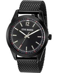 Steve Madden | Dial Mesh Band Watch | Lyst