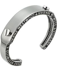 Vivienne Westwood - Frederic Open Bangle - Lyst
