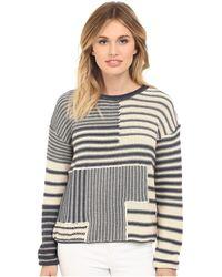 Mavi Jeans - Striped Sweater - Lyst