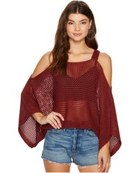 Bishop + Young - Ana Cold Shoulder Sweater - Lyst
