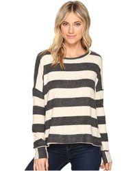 Culture Phit - Masie Round Neck Striped Sweater - Lyst
