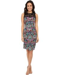 Nicole Miller - Luxuriant And Lace Party Dress - Lyst
