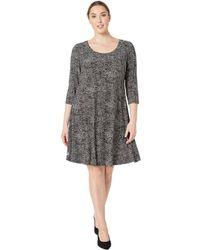 647e295ef7fd1 Anne Klein - Plus Size Ity Long Sleeve Shirtdress - Lyst