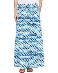 2b1906a1fbb Tommy Bahama Palais Paisley Maxi Skirt in Blue - Lyst