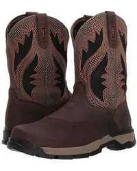 61418f1e15b Ariat Fire Creek Cowboy Boot in Brown for Men - Lyst