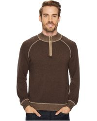 Agave - Victory At Sea Long Sleeve 1/4 Zip 12gg Sweater - Lyst