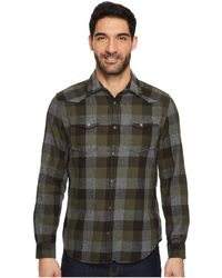 Calvin Klein Jeans - Buffalo Brushed Twill Button Down Shirt - Lyst