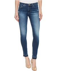 AG Jeans - Leggings Ankle In 9 Years Globe - Lyst