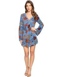 Brigitte Bailey - Bethy Long Sleeve Printed Dress - Lyst