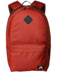 2532bdff77a3 Nike - Sb Icon Backpack (team Crimson golden Beige golden Beige) Backpack