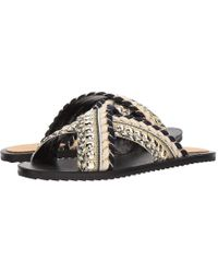 Bill Blass - Jaden (black) Slide Shoes - Lyst