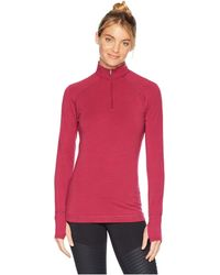 Hot Chillys - Mtf Solid Zip-t - Lyst