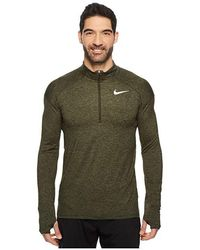cc6e07ff4c58a Nike Element Shield Max Hooded Jacket in Gray for Men - Lyst