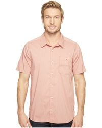Toad&Co - Panorama Chambray Short Sleeve Shirt - Lyst