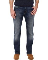Mavi Jeans - Zach Classic Straight Leg In Mid Used Williamsburg - Lyst