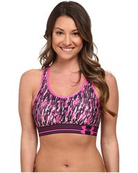 Under Armour - Ua Heatgear® Alpha Printed Bra - Lyst