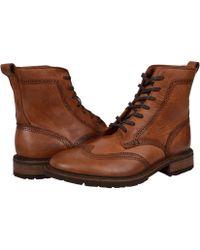 Frye - James Lug Wingtip Boot - Lyst