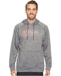 Under Armour - Armour® Fleece Tonal Twist Graphic Pullover Hoodie - Lyst