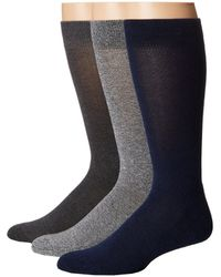 Hue - Marled Sock With Half Cushion 3-pack - Lyst
