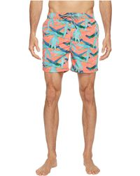 Mens Elasticated Swimshort with Colourful All-Over Print Swim Trunks Scotch & Soda Buy Cheap Finishline Clearance Cost Cheap Latest 4WA4KEIqXq