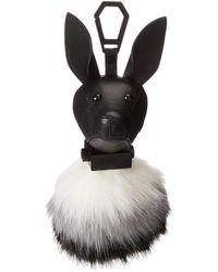 Kendall + Kylie - Bambi Black Key Fob - Lyst