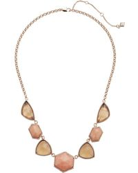 Vera Bradley | Geo Facets Statement Necklace | Lyst