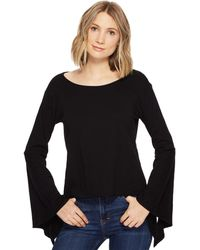 Blank NYC - Belle Sleeve Shirt In Shadow - Lyst