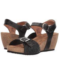 Taos Footwear Tallulah (black) Sling Back Shoes