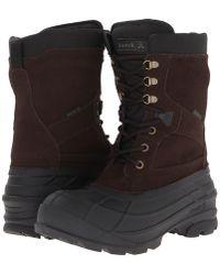 Kamik - Nationplus (dark Brown) Men's Boots - Lyst