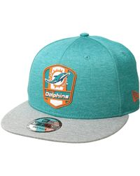 2869c7f043c KTZ - 9fifty Official Sideline Away Snapback - Miami Dolphins - Lyst
