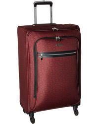 "Calvin Klein - Ck-620 Signature Softside 24"" Upright Suitcase - Lyst"