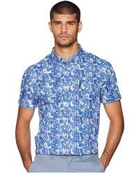 Ben Sherman - Short Sleeve Tropic Plaid Shirt - Lyst