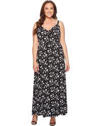 MICHAEL Michael Kors - Verbena Floral Print Maxi Slip Dress - Lyst