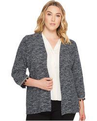 B Collection By Bobeau - Plus Size Maren Kimono Jacket With Trim - Lyst