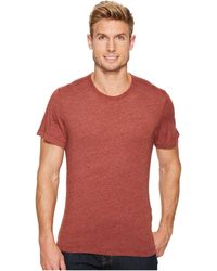 Agave - Sideshore Short Sleeve Crew Neck Neps Jersey - Lyst