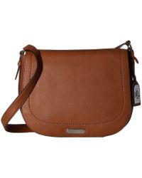 48fe9d70b1 Lyst - Lauren By Ralph Lauren Lynwood Jude Croc-embossed Leather ...