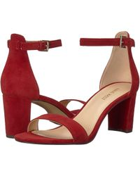 Nine West - Pruce Block Heel Sandal - Lyst