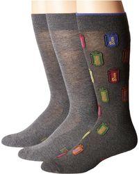 Hue - Beer Socks With Half Cushion 3-pack - Lyst