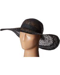 Lauren by Ralph Lauren - Sisal Eyelet Sun Hat - Lyst