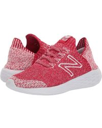 dd2a128902fef New Balance Fresh Foam Cruz V2 Sock Fit (team Red/arctic Fox) Running