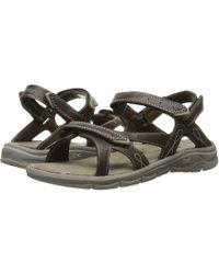 81913899a18 Lyst - Clarks Women s Dusty Soul Sandals in White
