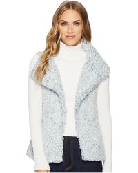 Dylan By True Grit | Frosty Tipped Pile Cozy Vest With Knit Lining | Lyst